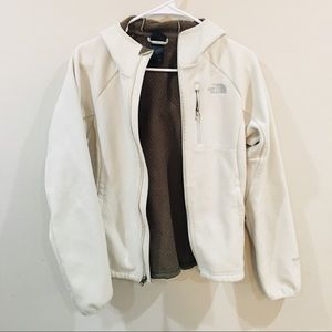 Cream/white The North Face Jacket
